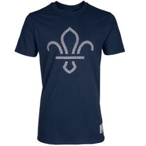 Fleur de Lis Scouts Front Print T-Shirt